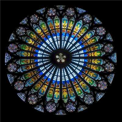Rose Window Background